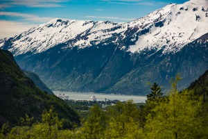 Skagway village and Nahku Bay image